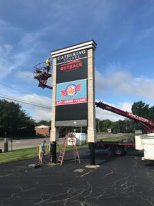 Pylon Sign Manufacture in Midwest USA